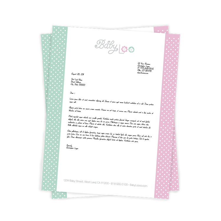Letterhead and Stationery Printing