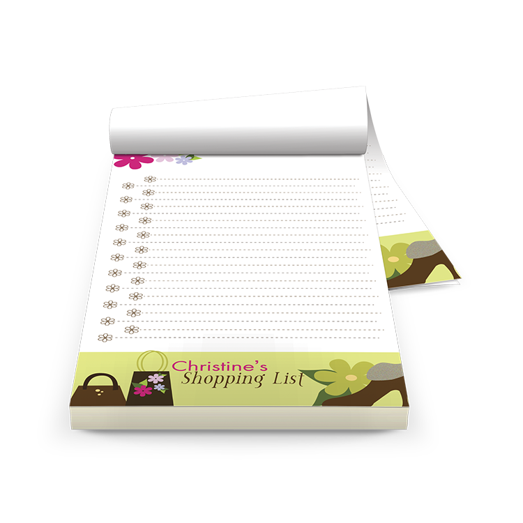Custom Printed Note Pads for Boston Businesses